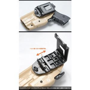 SAFARILAND(サファリランド) GLS Pro-Fit Holster (with Belt Clip) STANDARD プロフィット ホルスター ベルトクリップ スタンダード 579-83 swat 04