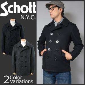 SCHOTT(ショット) 日本別注モデル ピーコート PEA COAT 24oz 753US|swat