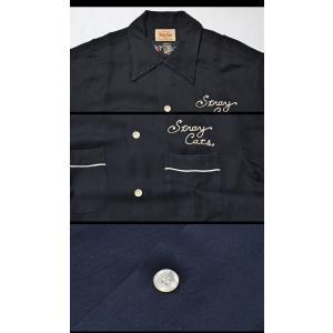 Style Eyes STRAY CATS BOWLING SHIRT LIMITED EDITION ストレイキャッツ ボーリングシャツ SE38024|swat|03