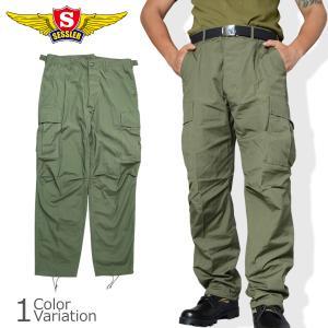 SESSLER(セスラ) ジャングルファティーグパンツ(ベトナム中期型) 2nd 【中田商店】A-1379|swat