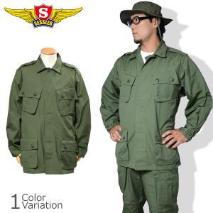 SESSLER(セスラ) ジャングルファティーグジャケット(ベトナム初期型)1st 【中田商店】A-1375 swat
