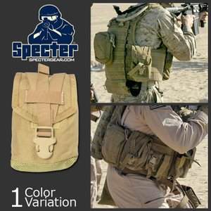 SPECTER(スペクター) Molle 1 QT Canteen Pouch モール ワンクォート キャンティーン ポーチ #388|swat