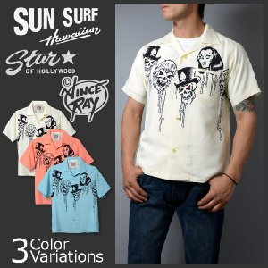 SUN SURF(サンサーフ) アロハシャツ VINCE RAY STAR OF HOLLYWOOD 2014 Collection