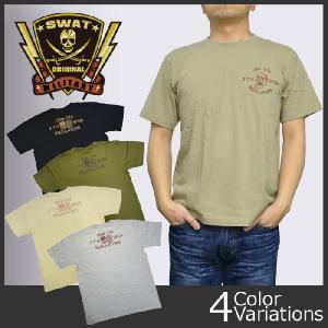 SWAT ORIGINAL(スワットオリジナル) メンズ Tシャツ 半袖 【ミリタリー】 ODA574 バックプリントTシャツ 6.2oz|swat