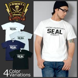 SWAT ORIGINAL(スワットオリジナル) UNITED STATES NAVY SEAL AMERICA 半袖 メンズ Tシャツ ネイビー シール アメリカ|swat