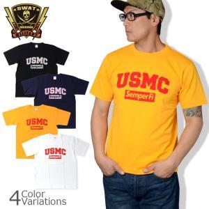 SWAT ORIGINAL(スワットオリジナル) USMC Semper Fi メンズ 半袖 Tシャツ|swat