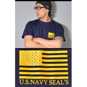 SWAT ORIGINAL(スワットオリジナル) U.S NAVY SEAL Budweiser ネイビー シールズ バドワイザー バックプリント Tシャツ 半袖|swat|04