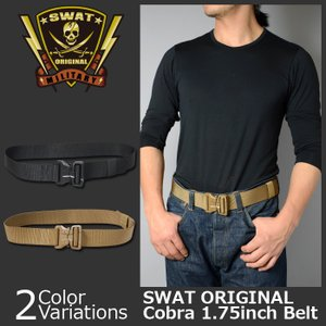SWAT ORIGINAL(スワットオリジナル) GTコブラバックル ベルト シングルレイヤー swat