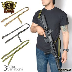 SWAT ORIGINAL(スワットオリジナル) TACTICAL 2 POINT SLING タクティカル 2ポイント スリング Ver.01|swat
