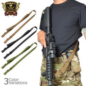 SWAT ORIGINAL(スワットオリジナル) TACTICAL 2 POINT SLING TYPE2 タクティカル 2ポイント スリング タイプ2 【レターパックライト対応】|swat