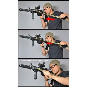 SWAT ORIGINAL(スワットオリジナル) TACTICAL 2 POINT SLING TYPE2 タクティカル 2ポイント スリング タイプ2 【レターパックライト対応】|swat|04