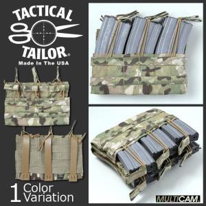 TACTICAL TAILOR(タクティカルテイラー) Fight Light 5.56 Triple Hex Mag Panel ファイトライト M4 トリプル ヘックス マグパネル ポーチ|swat