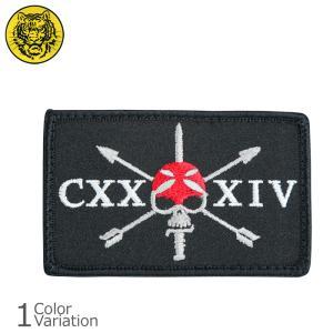 タイガーエンブ CXXXIV グリーンベレー パッチ ミリタリーワッペン 【ネコポス】|swat
