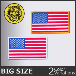タイガーエンブ 星条旗 US FLAG ビッグサイズ ネコポス対応|swat