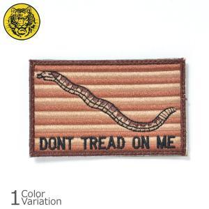 タイガーエンブ ファースト ネイビー ジャック DONT TREAD ON ME パッチ ミディアム ネコポス対応|swat