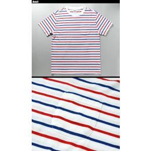 TOYO ENTERPRISE(東洋エンタープライズ) CHESWICK 半袖 ボーダーポケット Tシャツ CH76659 swat 02