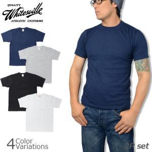 TOYO ENTERPRISE(東洋エンタープライズ) WHITESVILLE ホワイツビル 2 PACK S/S T-SHIRT 2枚組み 半袖 Tシャツ WV73544|swat