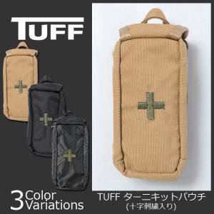 TUFF/PROSPEC DESIGN(タフ/プロスペックデザイン) ターニキットパウチ 十字刺繍入り 8877|swat