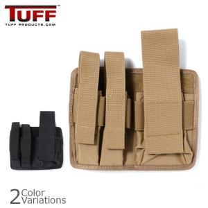 TUFF/PROSPEC DESIGN(タフ/プロスペックデザイン) 3 GUN MAG POUCH スリーガン マガジン パウチ ポーチ 7070|swat