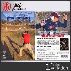 TUFF/PROSPEC DESIGN(タフ/プロスペックデザイン) WCS 新生スピードシューティング West Coast Steel DVD|swat