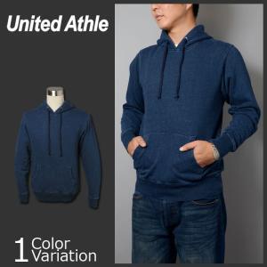 United Athle(ユナイテッドアスレ) 12.2オンス デニムスウェット プルオーバー パーカ(パイル) 3907-01 swat