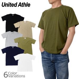 United Athle(ユナイテッドアスレ) 6.2オンス 無地半袖Tシャツ 5942-01 swat