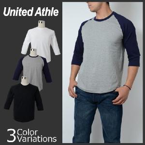 United Athle(ユナイテッドアスレ) 5.0オンスラグラン3/4スリーブTシャツ 5404 swat