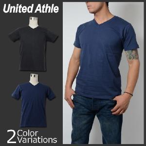 United Athle(ユナイテッドアスレ) 4.7オンス ファインジャージー Vネック Tシャツ 5495-01 swat