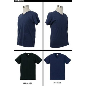 United Athle(ユナイテッドアスレ) 4.7オンス ファインジャージー Vネック Tシャツ 5495-01 swat 03