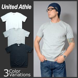 United Athle(ユナイテッドアスレ) 7.1オンス オーセンティック スーパーへヴィーウェイト Tシャツ(サイドパネル)(オープンエンドヤーン)4254-01 swat
