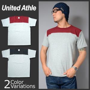 United Athle(ユナイテッドアスレ) 7.1オンス オーセンティック スーパーへヴィーウェイト フットボール Tシャツ(オープンエンドヤーン) 4255-01 swat