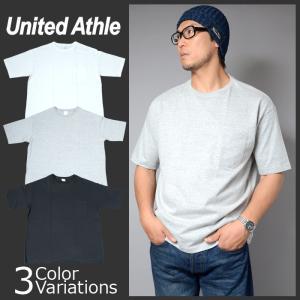 United Athle(ユナイテッドアスレ) 5.6オンス ビックシルエット Tシャツ(ポケット付)5008|swat