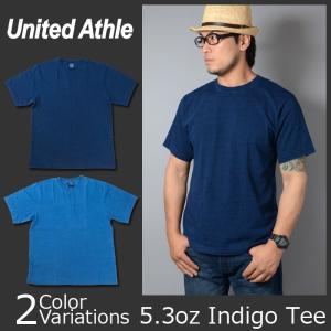 United Athle(ユナイテッドアスレ) 5.3オンス インディゴ Tシャツ 3990-01 swat