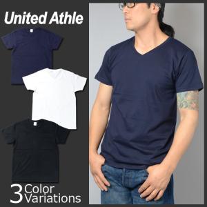 United Athle(ユナイテッドアスレ) 4.7オンス ファインジャージー Vネック Tシャツ 5746-01 swat