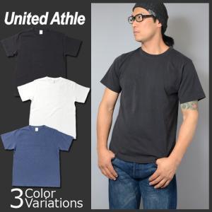 United Athle(ユナイテッドアスレ) 5.6オンス ピグメントダイ Tシャツ 5020-01 swat