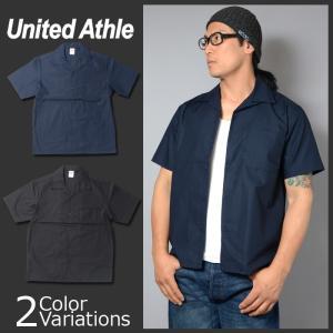 United Athle(ユナイテッドアスレ) T/C オープンカラー シャツ 1759-01 swat