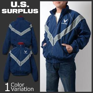 U.S SURPLUS(USサープラス) U.S.AIRFORCE PTU 米空軍フィジカルトレーニングユニフォーム ジャケット 8415-01-518-4607|swat