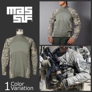 U.S SURPLUS(USサープラス) MASSIF Army Combat Shirt マッシフ アーミーコンバットシャツ 官給品 ACU/UCP|swat