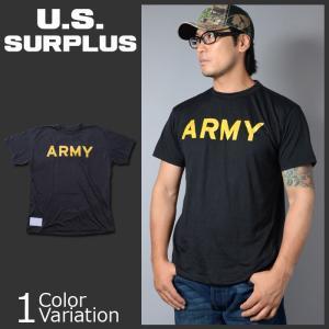U.S SURPLUS(USサープラス) 米軍放出未使用品 ATHLETE'S T-SHIRT PT アスリート Tシャツ|swat