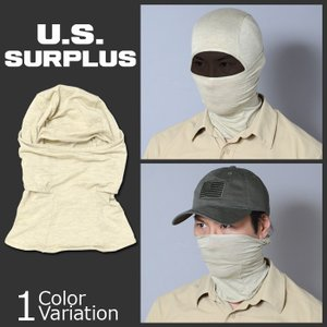 U.S SURPLUS(USサープラス) 米軍放出未使用品 バラクラバ フェイスマスク 薄手 ネコポス対応|swat