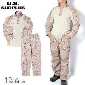 U.S SURPLUS(USサープラス) 米軍放出未使用品 海兵隊 FROG FR BDU フロッグ 上下セット swat