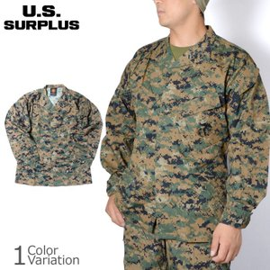 U.S SURPLUS(USサープラス) 米軍放出未使用品 海兵隊 MARPAT BLOUSE MCCUU マーパット ブラウス ジャケット BDU swat