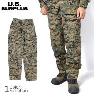 U.S SURPLUS(USサープラス) 米軍放出未使用品 海兵隊 MARPAT TROUSER MCCUU マーパット トラウザー パンツ BDU swat