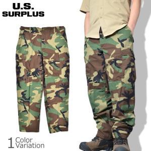 U.S SURPLUS(USサープラス) 米軍放出未使用品 BDU トラウザース パンツ 50/50|swat