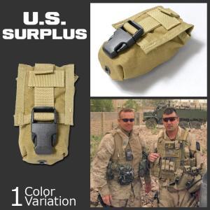 U.S SURPLUS(USサープラス) 米軍放出未使用品 FLASH BANG POUCH フラッシュバンポーチ ブラックバックル|swat