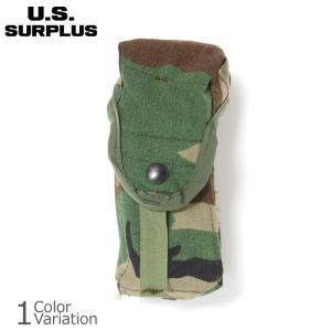 U.S SURPLUS(USサープラス) 米軍放出未使用品 MOLLE2 M16A2 マガジンポーチ ダブル 【レターパック360対応】|swat