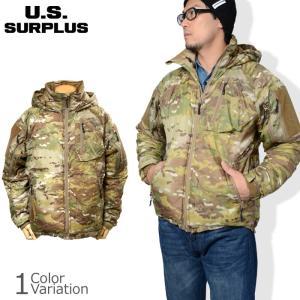 米軍未使用品LEVEL7ジャケットです。アメリカのアウトドアメーカーBEYOND社が軍向けに製作した...