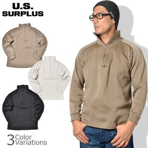 U.S SURPLUS(USサープラス) ECWCS GEN2 1/4 ZIP UNDER SHRI...