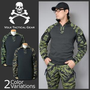 VOLK TACTICAL GEAR(ボルク タクティカル ギア) TIGER COMBAT SHIRT タイガー コンバット シャツ swat
