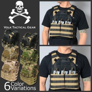 VOLK TACTICAL GEAR(ボルク タクティカル ギア) V-RAVS ブイ ラブ プレートキャリア|swat